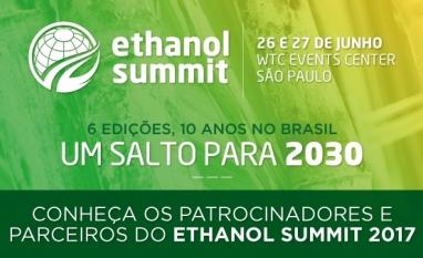 Conheça os Patrocinadores e Parceiros do Ethanol Summit 2017