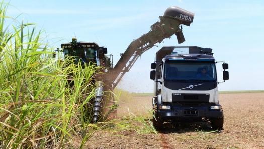 Empresa desenvolve caminhão que anda sozinho, para reduzir perdas em plantações de cana-de-açúcar
