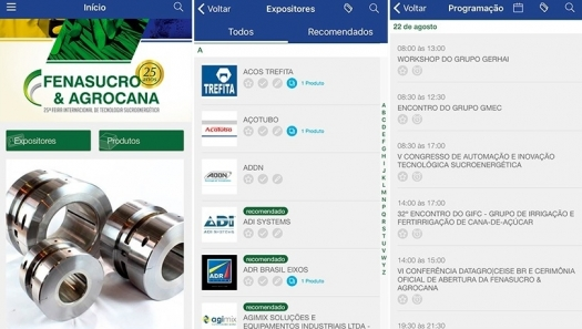FENASUCRO & AGROCANA aposta em tecnologia para fomentar negócios e relacionamento entre compradores e expositores