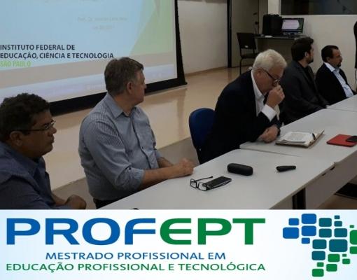 IFSP Câmpus Sertãozinho realiza aula magna do Mestrado Profissional em Educação Profissional e Tecnológica - ProfEPT