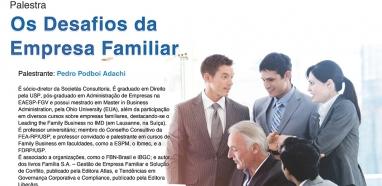 Palestra - Os Desafios da Empresa Familiar