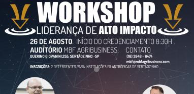 Workshop MBF Agribusiness -  Liderança de Alto Impacto