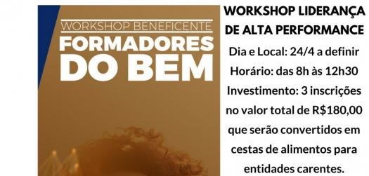 Workshop Beneficente Formadores do Bem