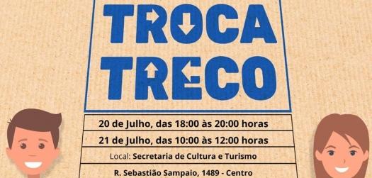 Secretaria de Cultura e Turismo e Centro Municipal de Memória realizam Feira Troca Treco