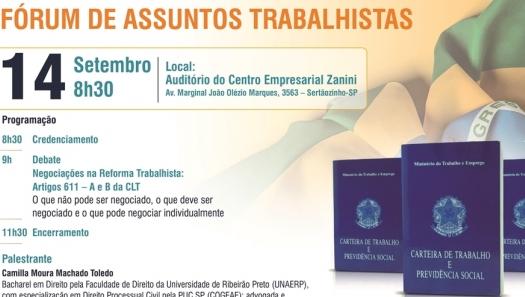 CEISE Br e ABIMAQ realizam Fórum de Assuntos Trabalhistas