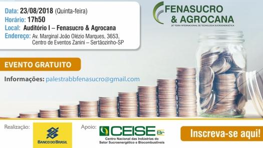 Palestra Banco do Brasil: Momento econômico atual e perspectivas
