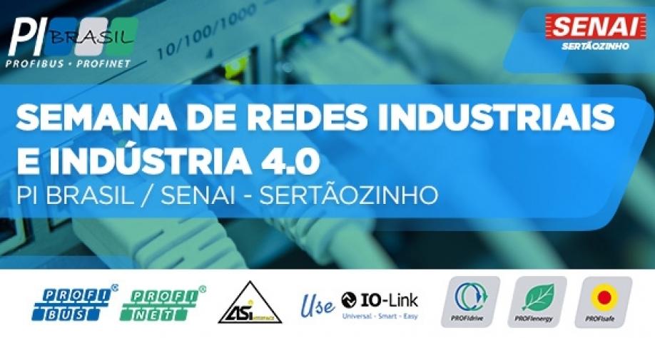 Semana de Redes Industriais e Indústria 4.0