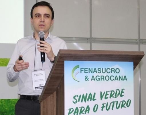 Luciano Rodrigues - Gerente de economia e análise setorial da UNICA durante Seminário de Bioeletricidade na Fenasucro & Agrocana do ano passado.