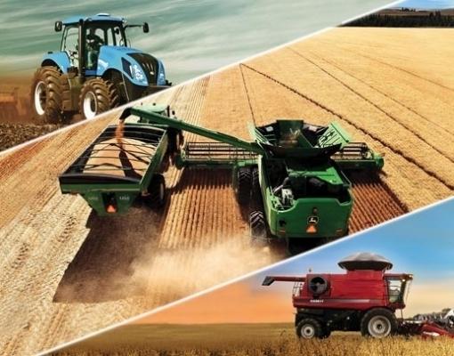 Venda de máquinas agrícolas e rodoviárias cresce 19,8% em fevereiro