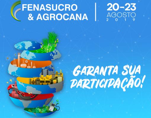 Garanta sua participação - Fenasucro & Agrocana