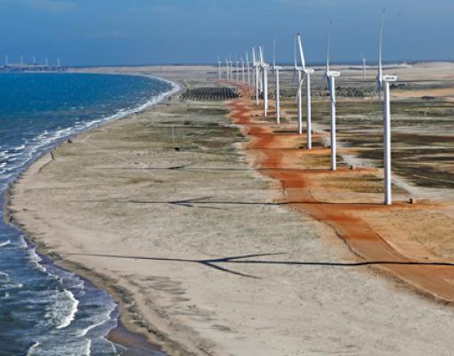 Participação da energia eólica aumenta na matriz elétrica brasileira