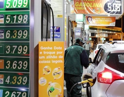 Posto de combustível do Rio Foto: Paulo Nicolella / Agência O Globo
