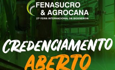Credenciamento Aberto - 27ª Fenasucro & Agrocana