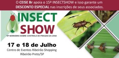Insectshow - 15º Seminário sobre Controle de Pragas da Cana