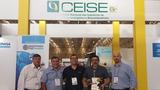 CEISE Br presente da 10ª Feira Brasil Offshore