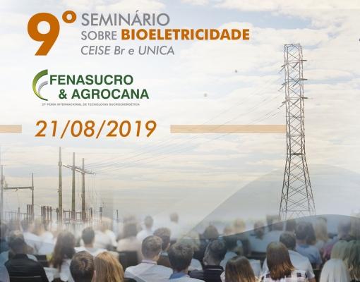 9º Seminário sobre Bioeletricidade CEISE Br e UNICA
