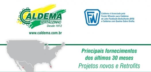 Visite o estande da Caldema na 27ª Fenasucro & Agrocana