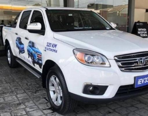 JAC lança picape elétrica e carro elétrico mais barato do Brasil