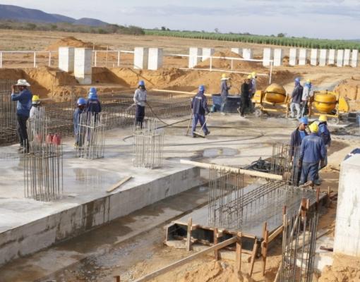 Obras da usina Grupo Paranhos (Divulgação/Nilson Negrão)