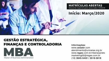 MBA - Gestão Estratégica, Finanças e Controladoria