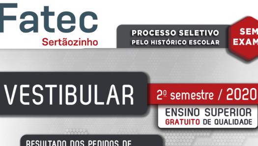 O Centro Paula Souza divulga redução e isenção de taxa do Vestibular!