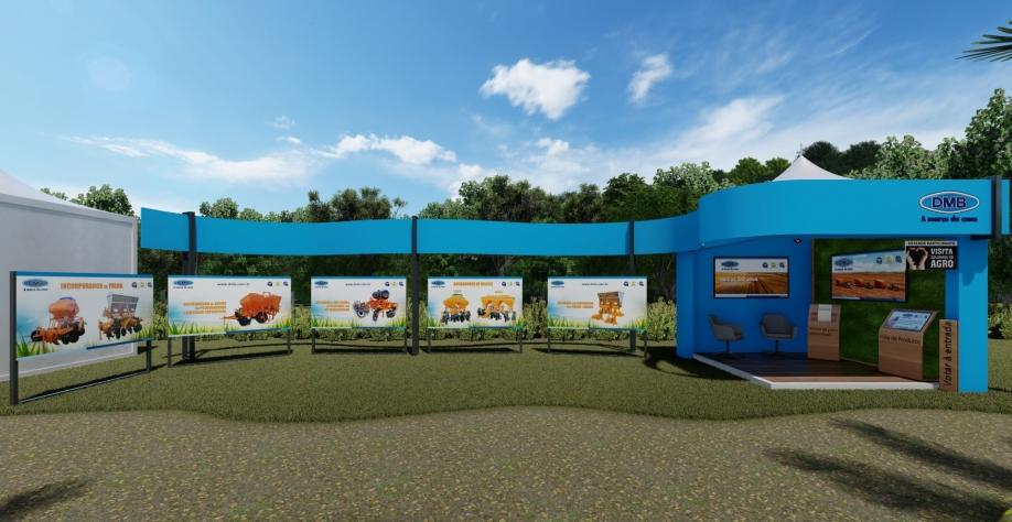 DMB expõe diversas soluções para cana-de-açúcar em feira digital da Coopercitrus