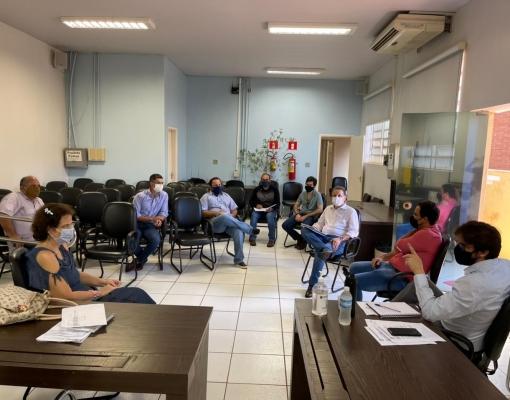 PRESIDENTE DO CEISE Br PARTICIPA DE REUNIÃO COM O PREFEITO DE SERTÃOZINHO E LIDERANÇAS.