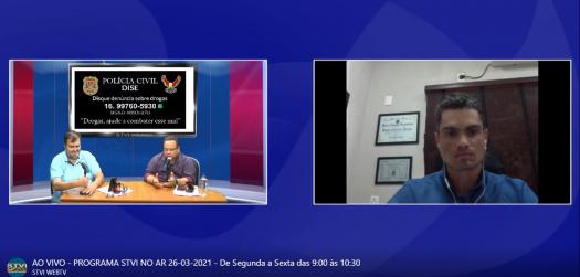 PRESIDENTE DO CEISE Br CONCEDE ENTREVISTAS PARA RÁDIOS DE SERTÃOZINHO