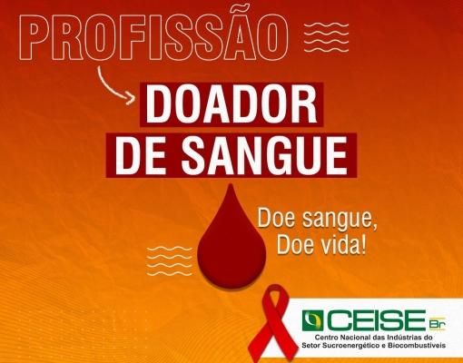 CEISE BR E LANÇA CAMPANHA DE DOAÇÃO DE SANGUE