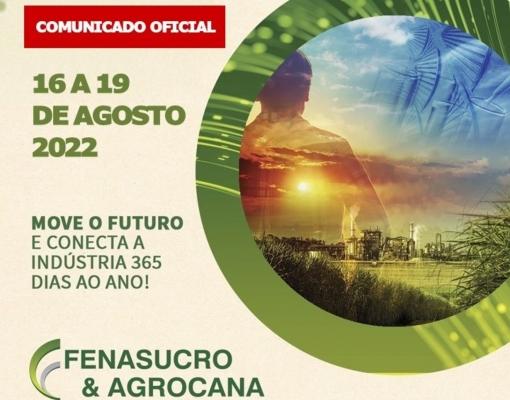 COMUNICADO OFICIAL FENASUCRO E AGROCANA